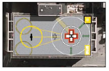 University of Maryland shock trauma heliport, Baltiimore MD, Heliport audit, upgrade, training and regulatory liaison services provided by Raymond A. Syms & Associates.